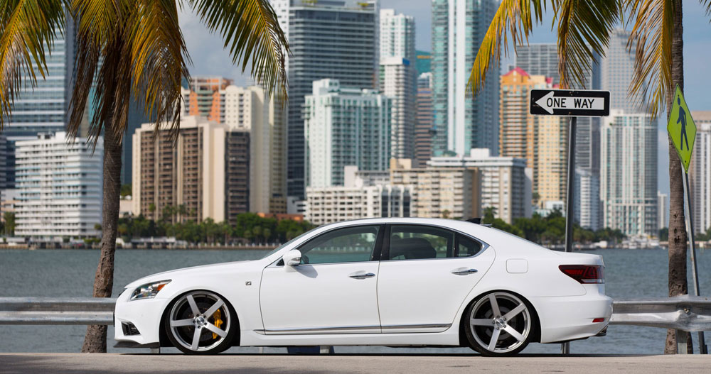 Lexus Enthusiast LS F SPORT Mike Forsythe