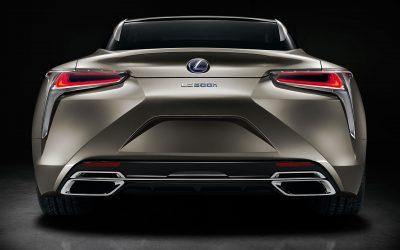 Lexus Rx F Sport >> Photo Gallery: The Lexus LC 500h in Atomic Silver