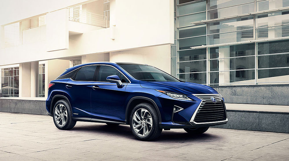 Lexus RX February Sales 2016