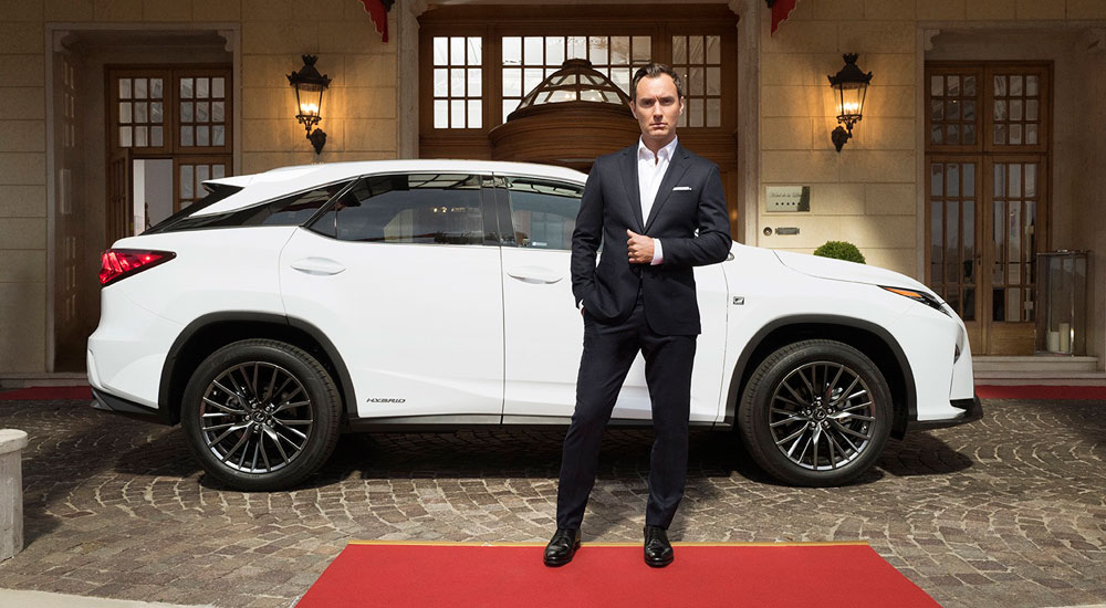 Lexus RX Jude Law Life