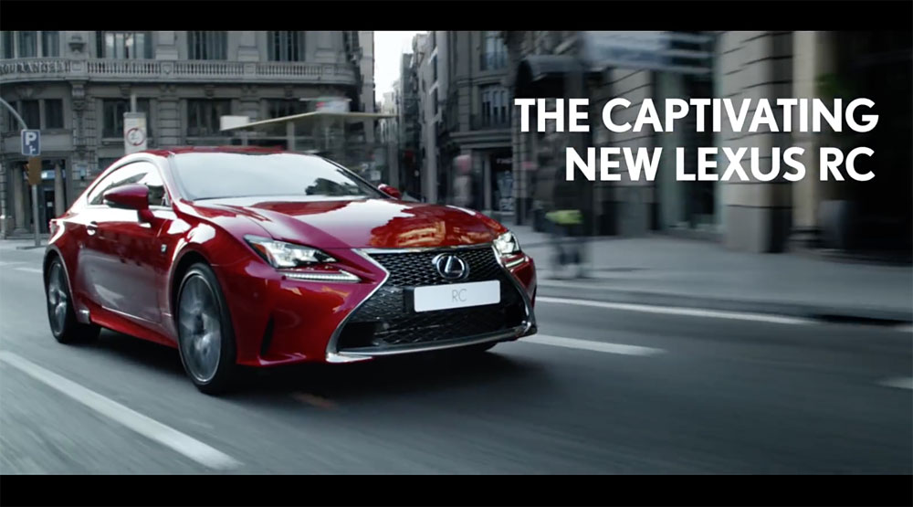 Lexus RC Europe
