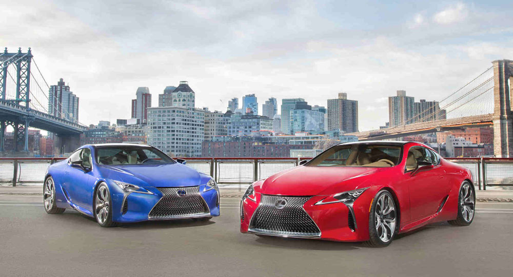 Lexus LC 500 LC 500h Together