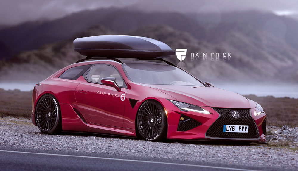 Lexus LC 500 Shooting Brake