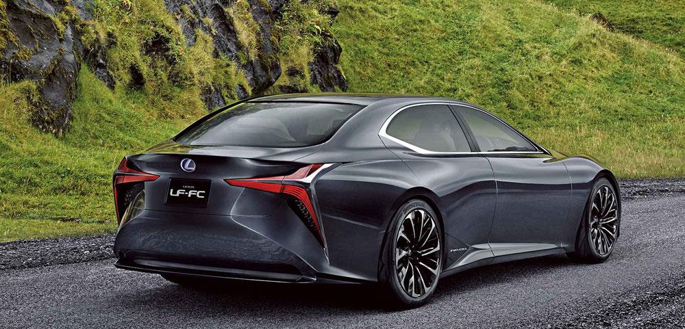Lexus LF-FC Rear Profile