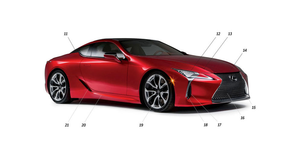 Lexus LC 500 Design Review