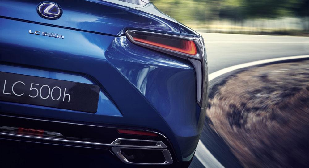 Lexus LC 500h Rear