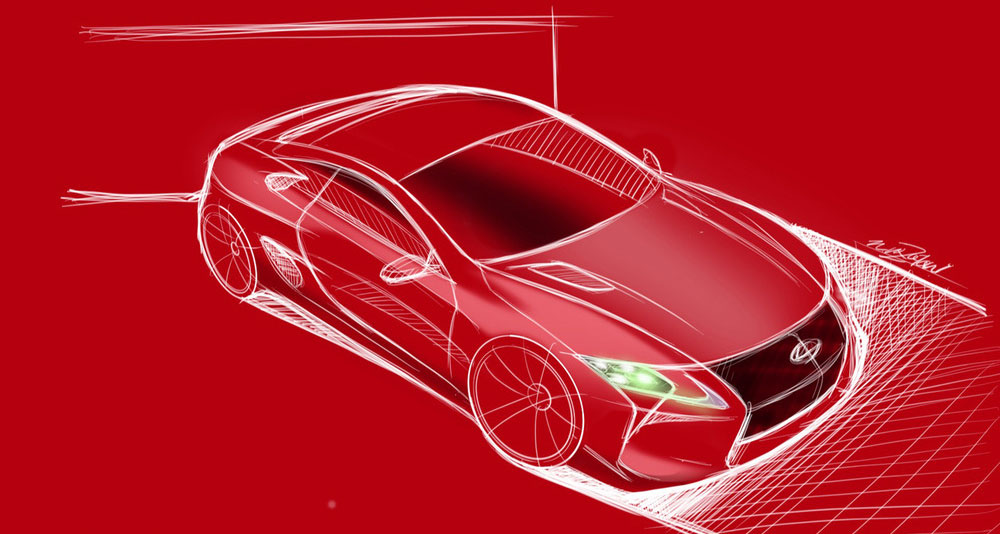 Lexus LFA II Successor