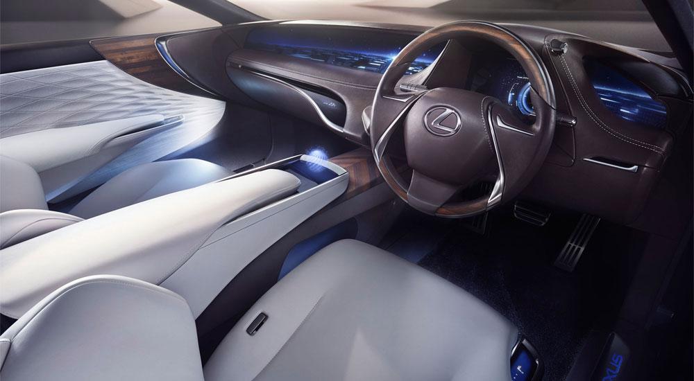 Lexus LF-FC interior