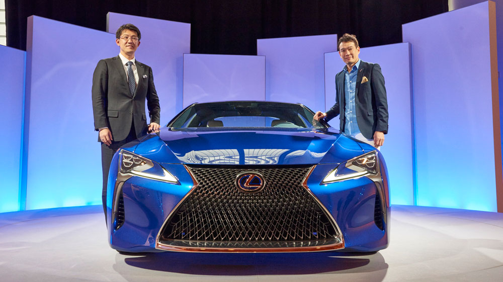 Lexus LC Chief Engineer Chief Designer