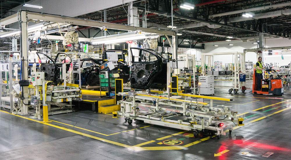 Lexus ES Robot Doors
