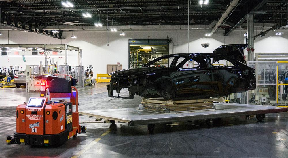 Lexus ES Robot Shell