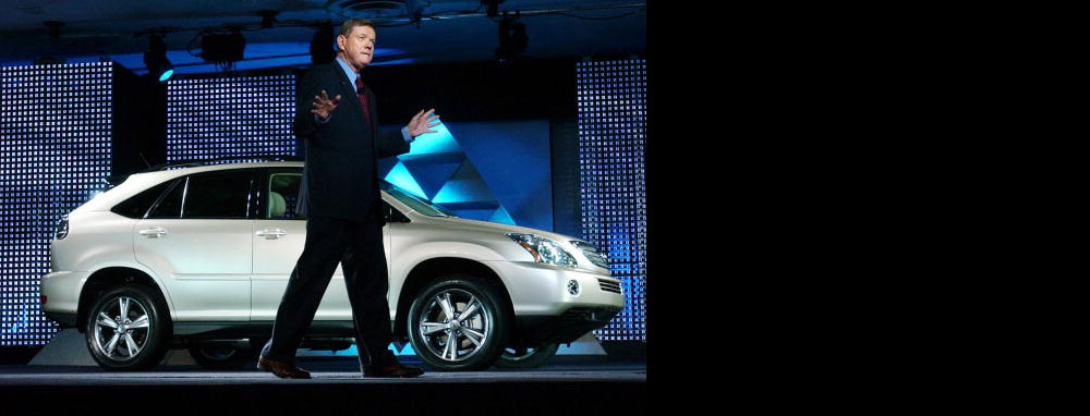Lexus USA General Manager Denny Clements