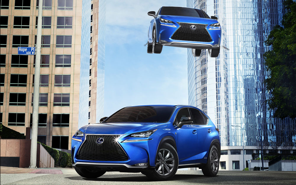 Lexus Japan NX Commerical