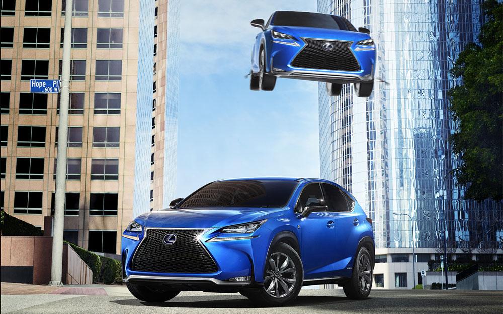 Lexus Flying Car >> Lexus Nx Flies Through The Air In New Japanese Commercial Lexus