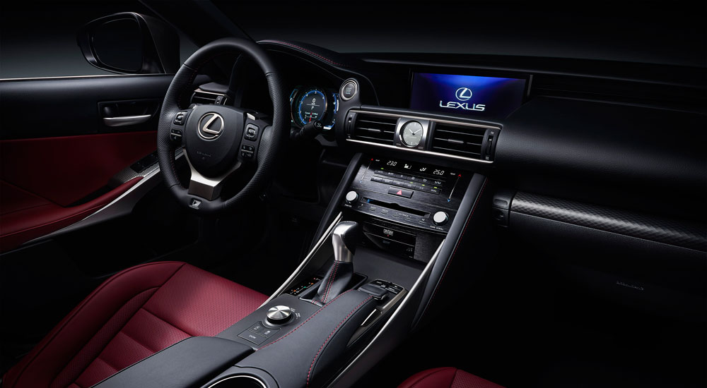 Lexus IS 2017 Interior 2