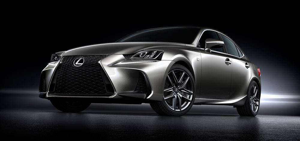 Lexus IS 2017 Second