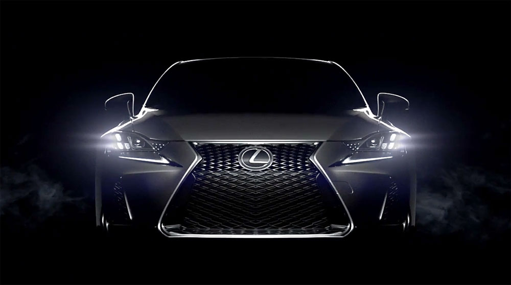 Lexus 2017 IS Headlights