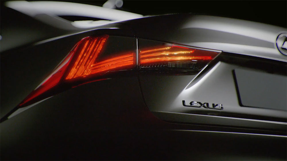 Lexus 2017 IS Tail Lights