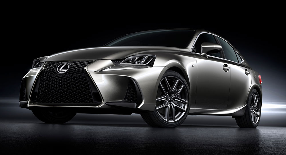 Lexus Is Update 2017