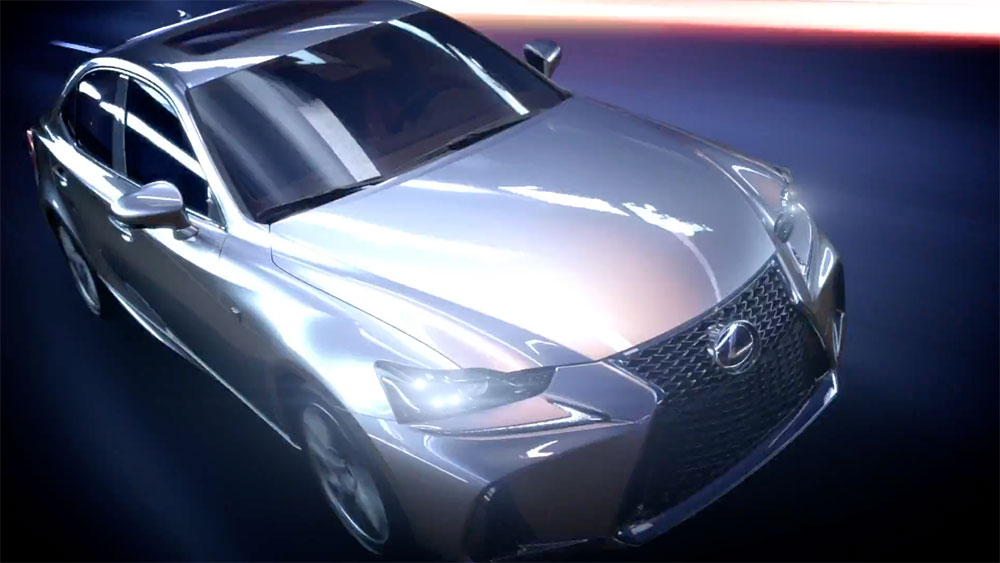 Lexus IS 2017 Video