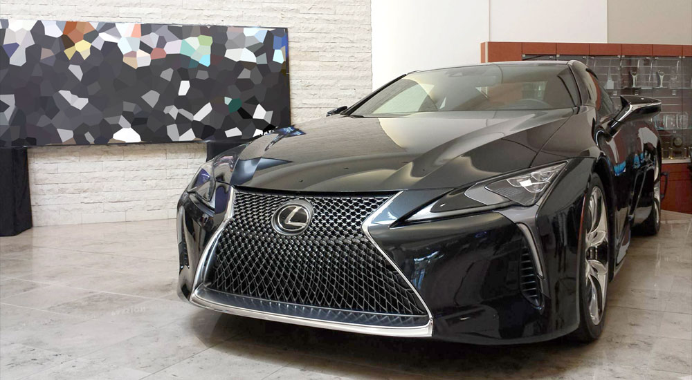 Lexus LC 500 Dark Gray