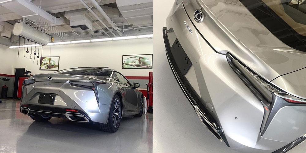 Lexus LC 500h Silver