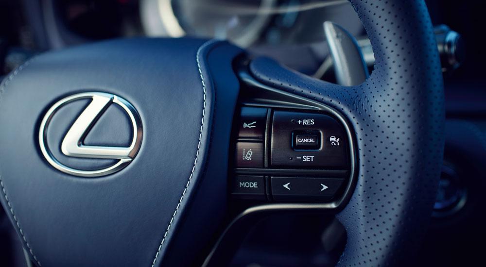 Lexus LC Interior Craftsmanship