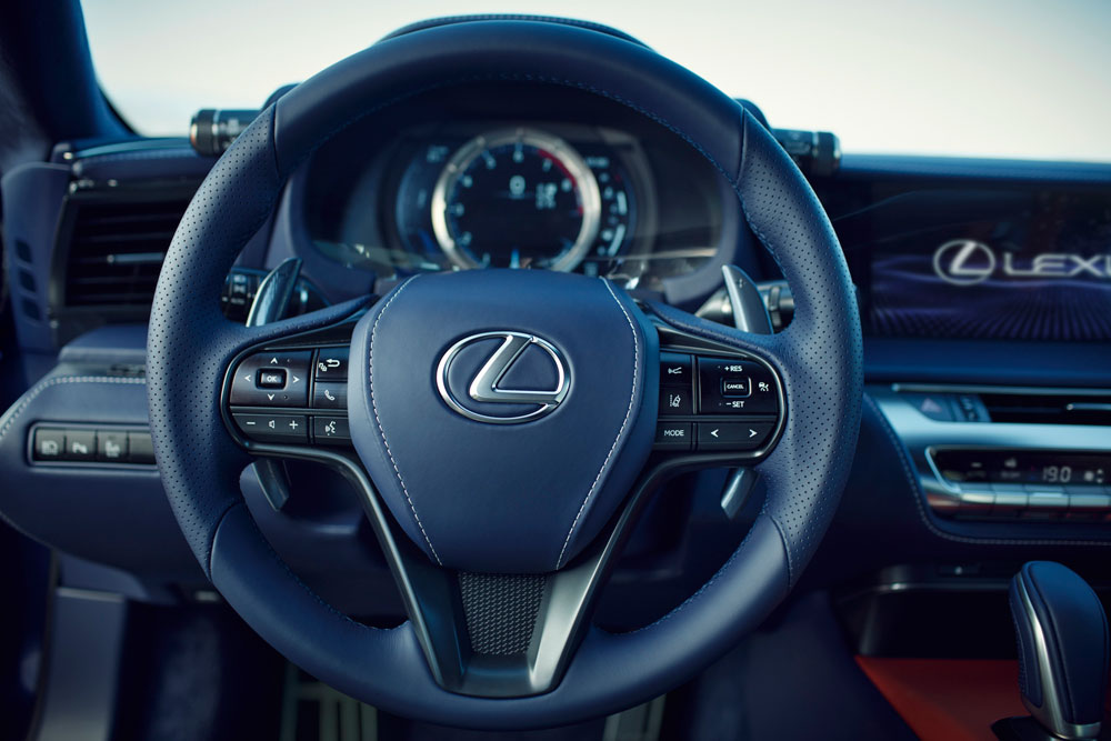 Lexus LC Interior Steering Wheel