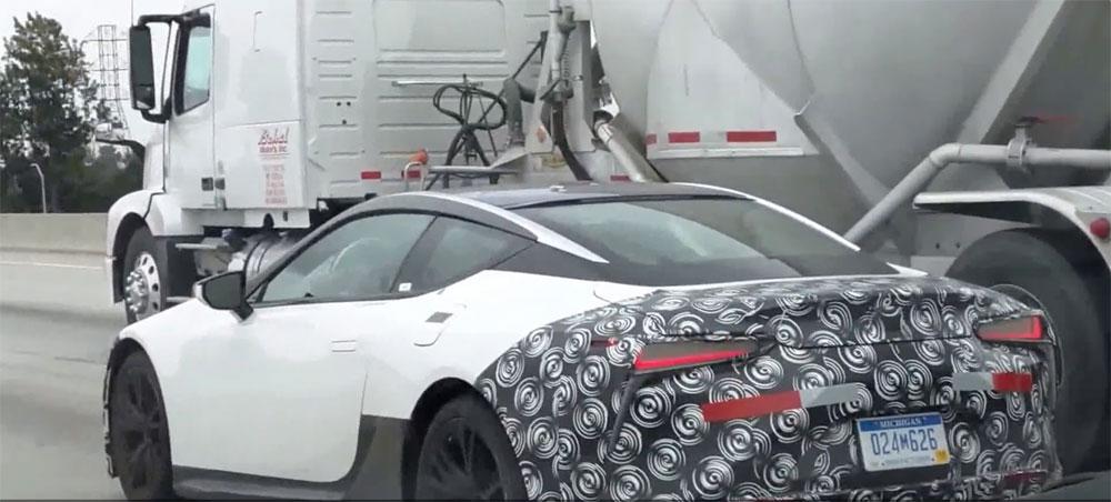 Lexus LC White Camo Detail