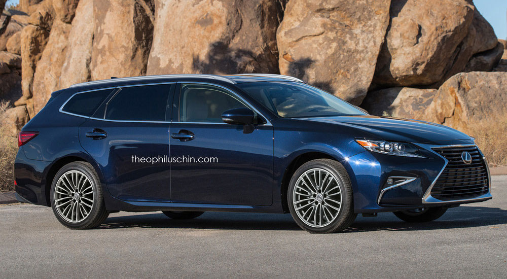 Rendered The Lexus Es Sportcross Wagon Lexus Enthusiast