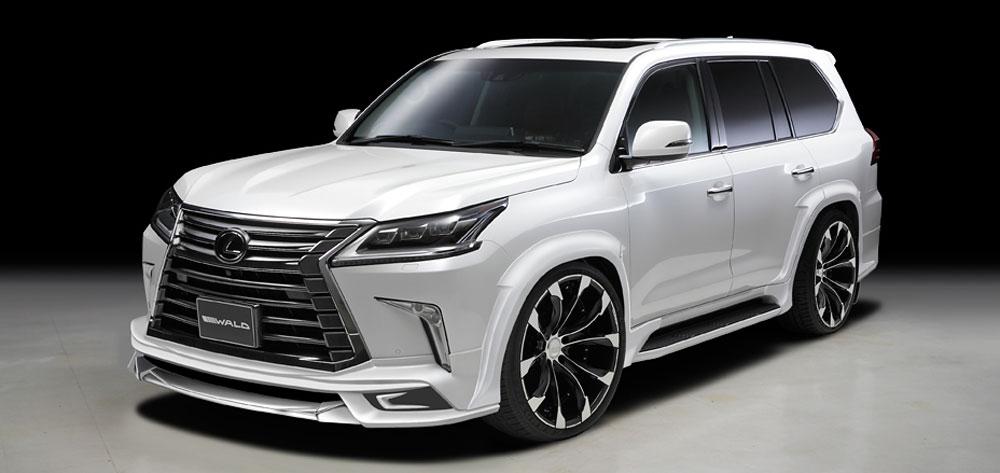 Wald International To Release Lexus Lx Sports Line Body