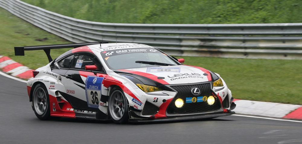 Lexus RC F Nürburgring Win