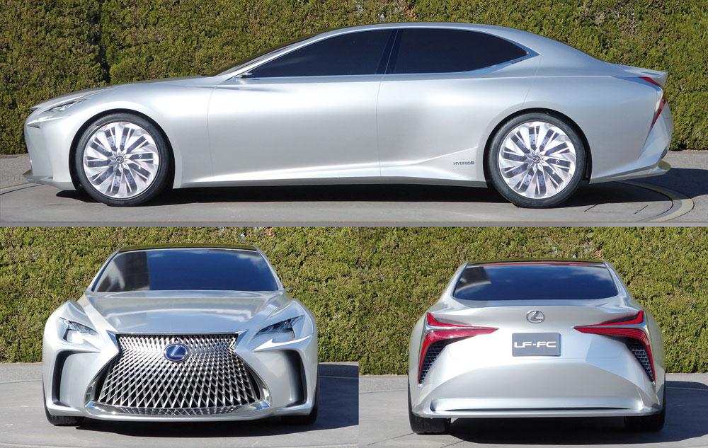 Lexus LF-FC in Silver