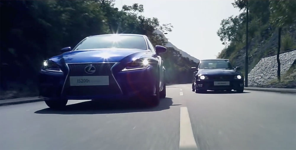 Lexus IS Two Generations