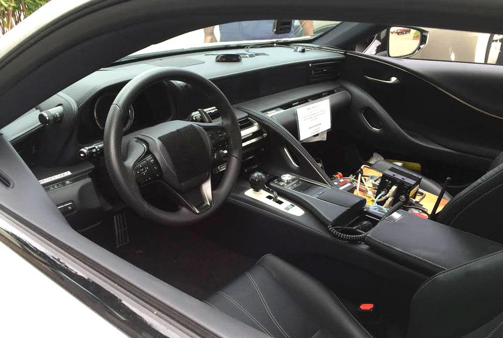 Lexus LC Interior Camouflage