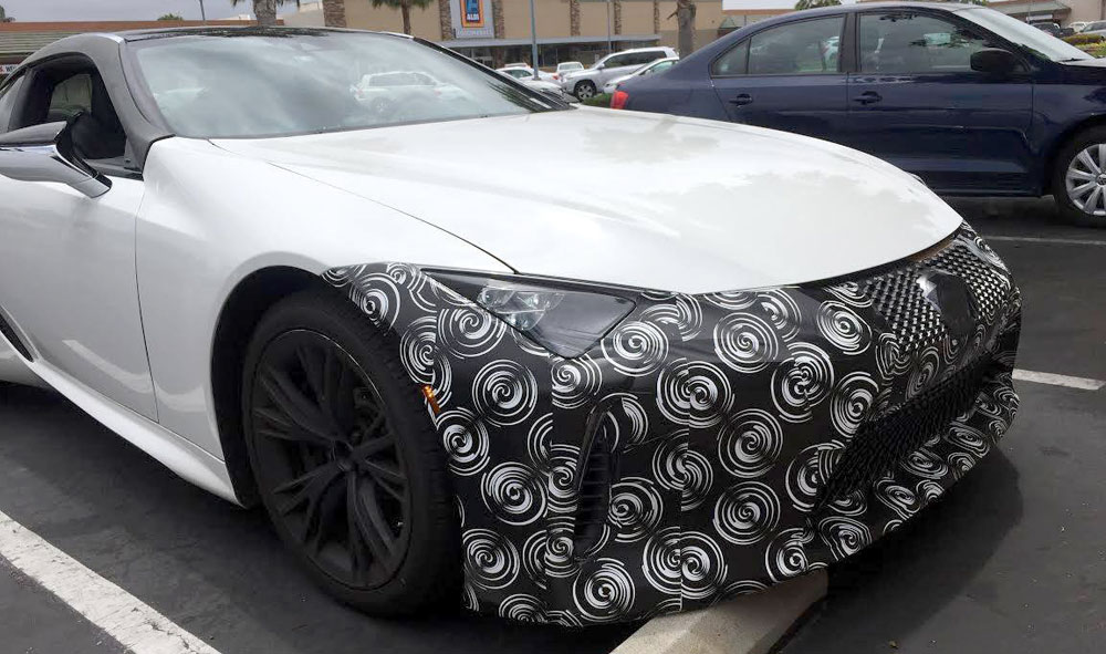Lexus LC Camouflage White