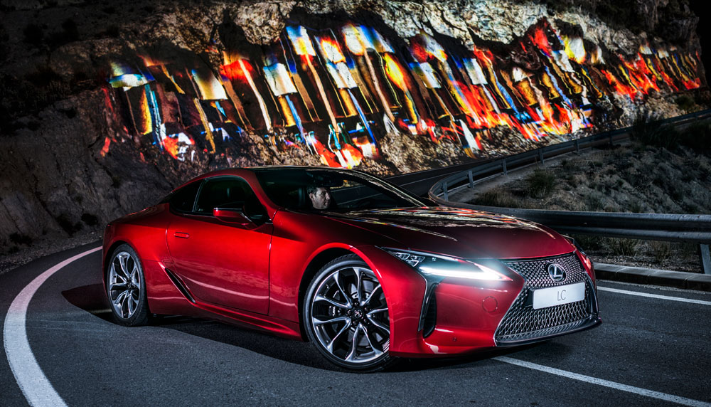 Lexus LC Into the Light