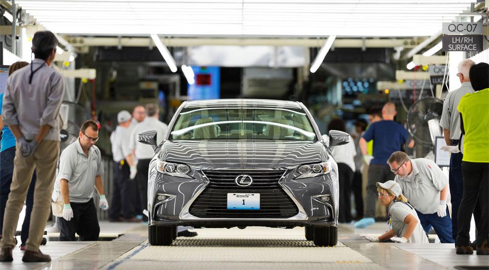 Lexus ES Manufacturing Plant