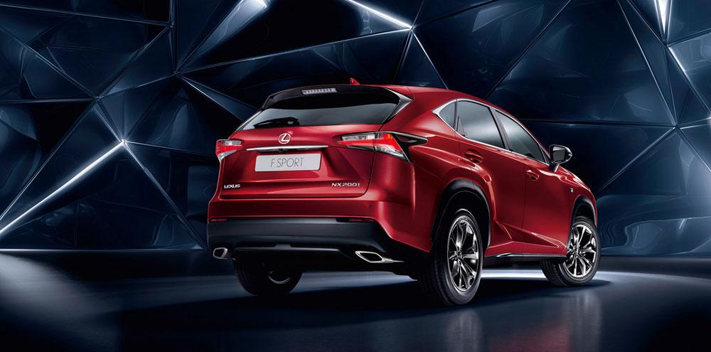 Lexus NX Russia
