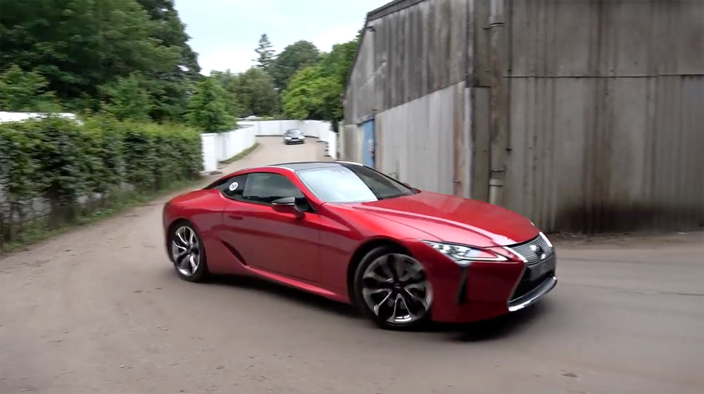 Lexus LC 500 Goodwood Festival of Speed