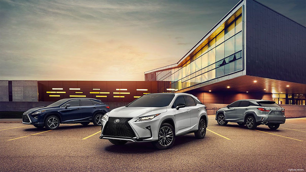 Lexus RX Sales Report