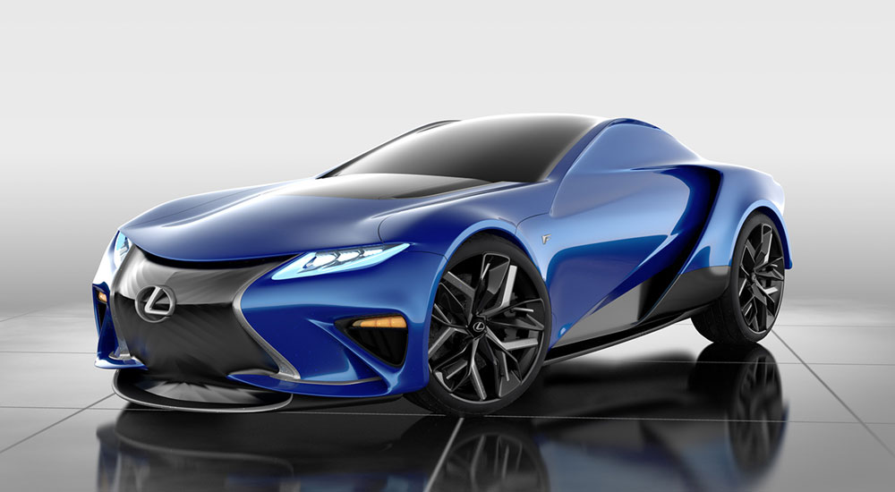 Lexus LF-LA Rendering