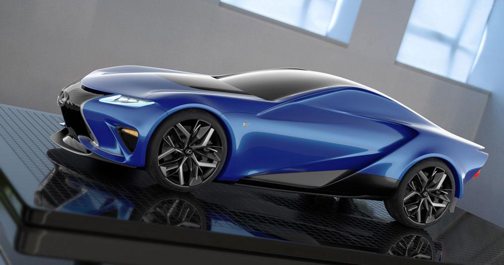 Lexus LF-LA Concept Side