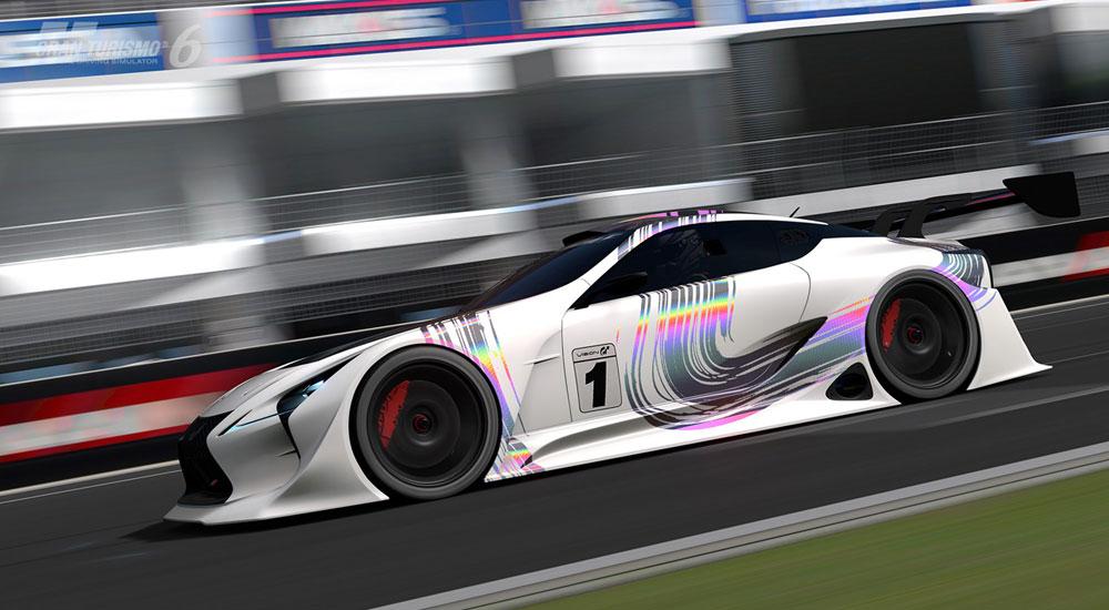 Lexus LC Gran Turismo GT500