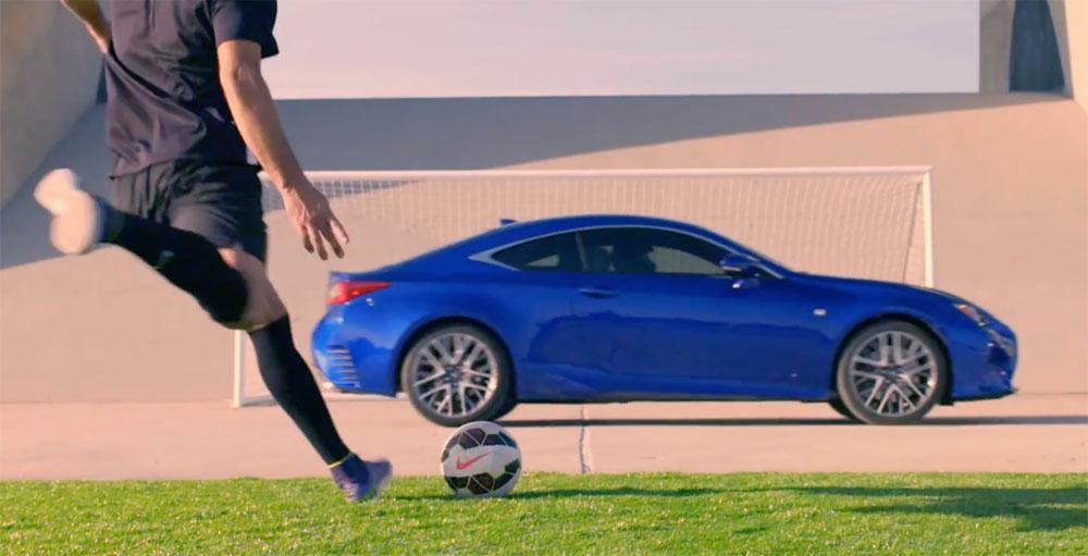 Lexus Soccer Clint Dempsey