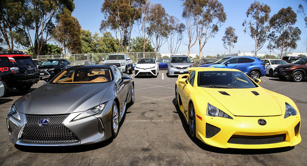 Lexus Lfa Amp Lexus Lc Together