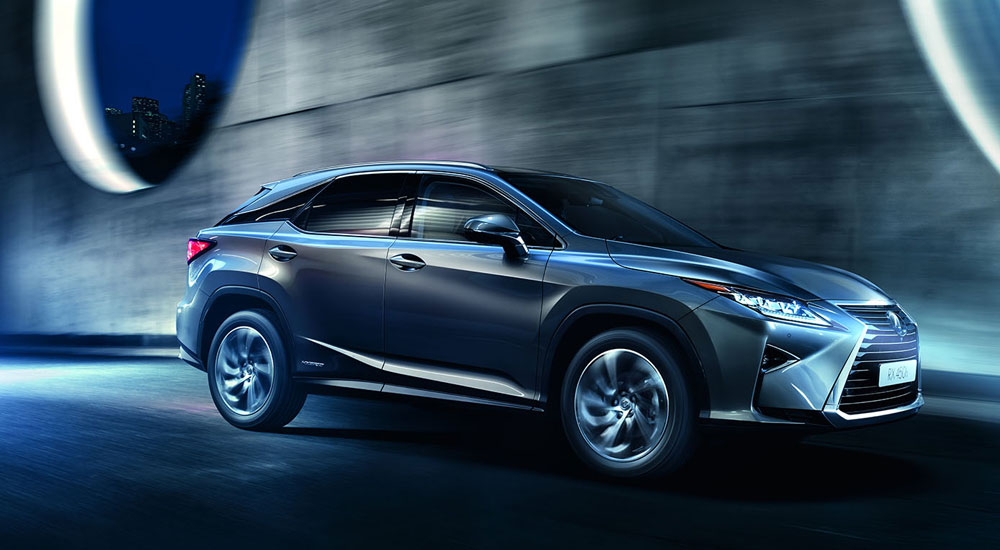 Lexus RX Europe Sales