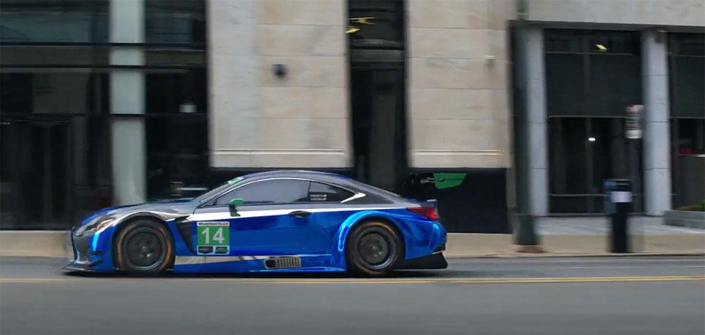 Lexus RC F GT3 Commercial