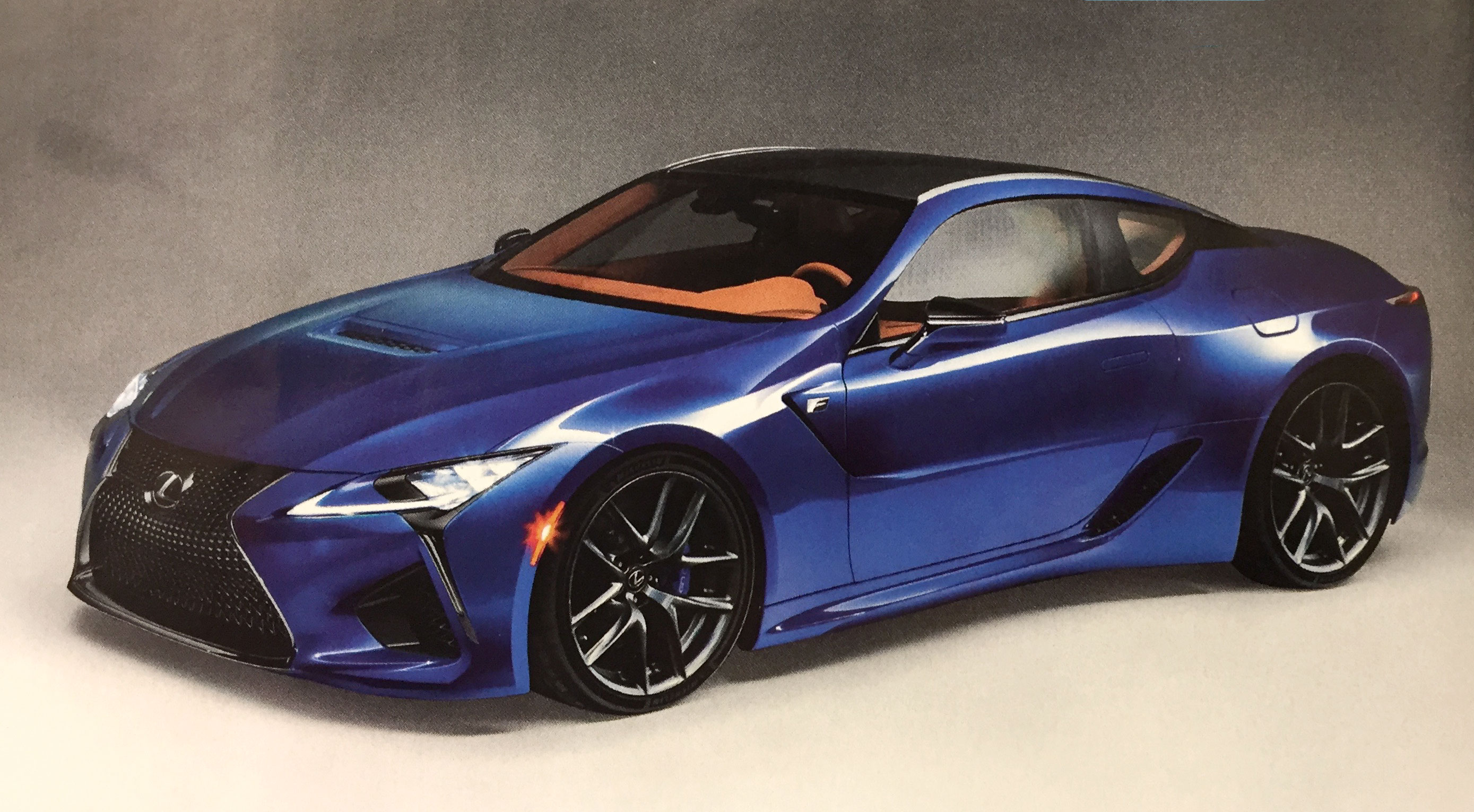 Automobile magazine claims the much-anticipated Lexus LC F will be ...
