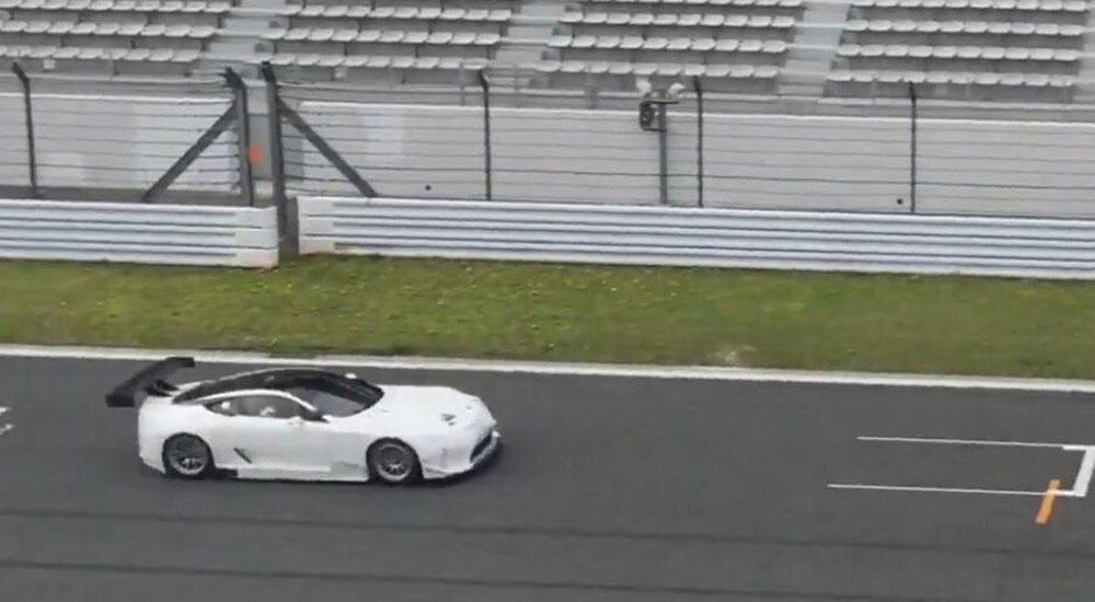 Lexus LC Racing Prototype Front